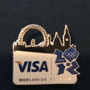2012 London Olympics Collectible Lapel Pin